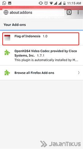 Cara Mengubah Tampilan Browser Android 4