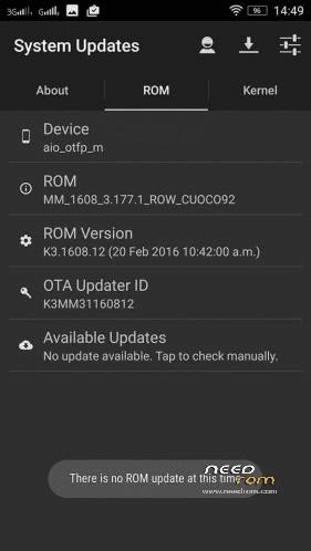 System Ota Update Lenovo