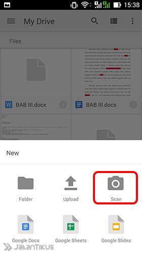 Scan Dokumen Google Drive 2