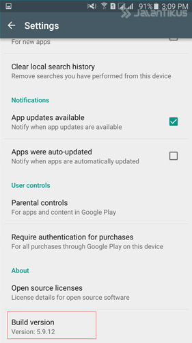 Solusi Google Play Store Error 6