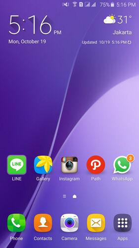 Widget Yang Biasa Dipasang Di Android 4