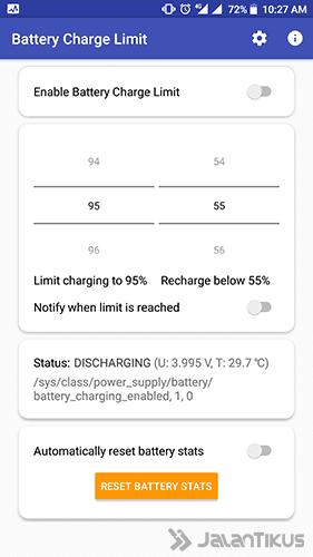 Langkah 3 - Cara Charge Smartphone Android Tidak Full