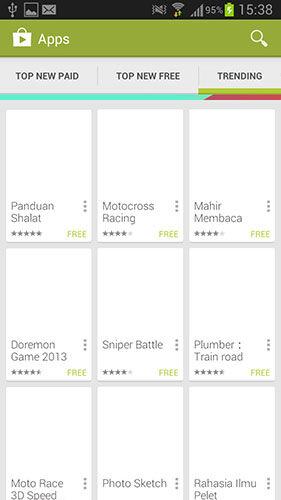 Google Play Store Trending