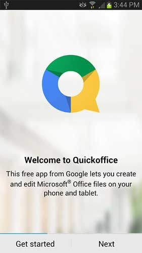 Quickoffice Intro