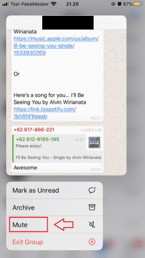 Cara Menonaktifkan Grup Whatsapp Tekan Lama 920b2