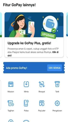Cara Upgrade Gopay Fitur 52c01