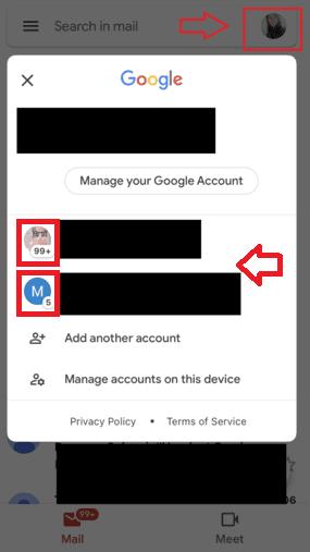 Cara Membuat 2 Akun Gmail Di Android Pilih Email A65ad