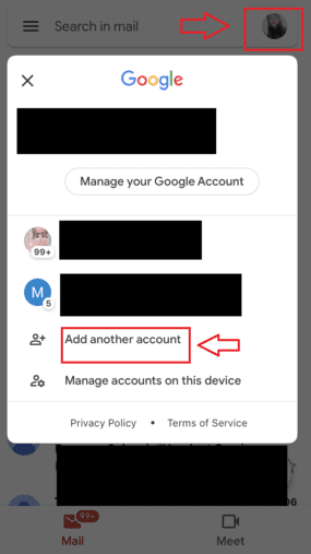 Cara Membuat 2 Akun Gmail Di Android Tekan Foto Profil 558dd