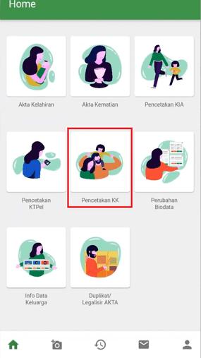 Cara Membuat Kartu Keluarga Online Klik Permohonan Kk 37b1c