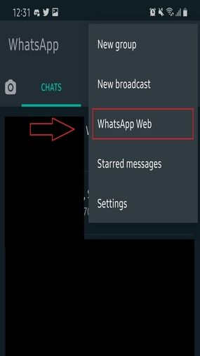 Cara Keluar Dari Whatsapp Web Android Tekan Opsi Whatsapp Web Fea1c