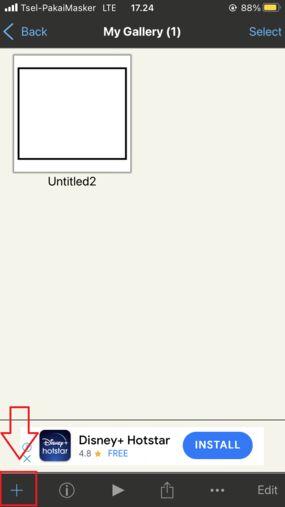 Cara Menggunakan Ibis Paint X Tekan Tanda Plus A0eb4
