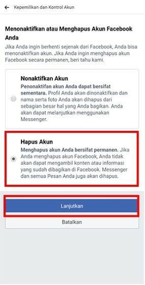 Cara Menghapus Akun Facebook Orang Lain Be72f