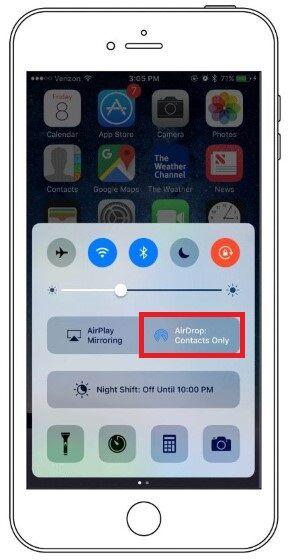 Cara Menghemat Baterai HP Android airdrop