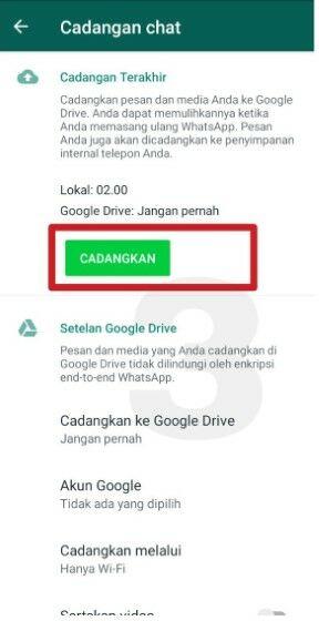Cara Memindahkan Chat Whatsapp Dari Android Ke Iphone Tanpa Pc 8b6db