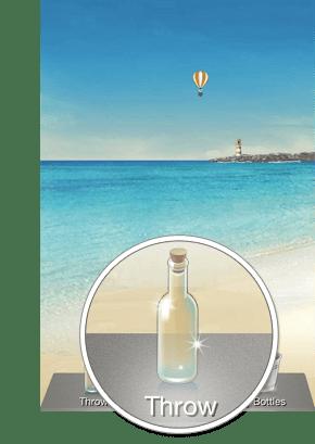 Fitur WeChat Drift Bottle