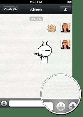 Fitur WeChat Emoticon