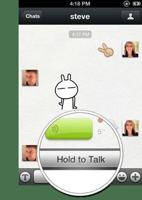 Fitur WeChat Voice Chat