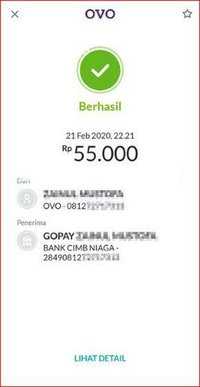 Transfer Ovo Ke Gopay Selain Bank Permata 48a69