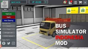 Mod Money Bus Simulator Indonesia Android 6d502