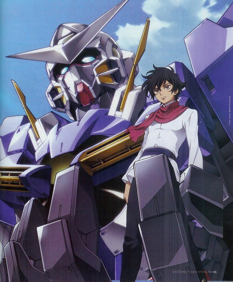 7 Karakter Anime Beragama Islam 1 Setsuna F Seiei Gundam 00