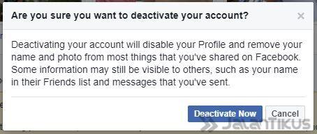 Cara Menghapus Akun Facebook Permanen Semua Perangkat