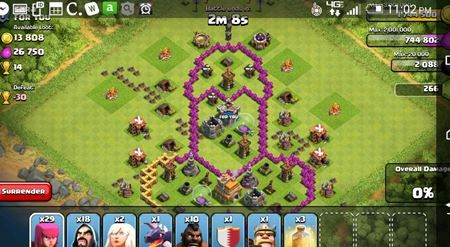 Base Coc Th 6 Kelelawar 9