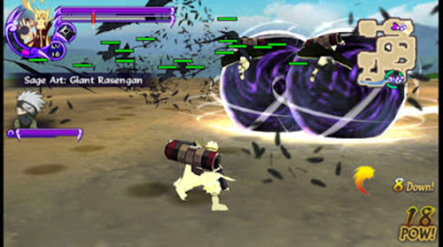 Cara Main Game Naruto: Ultimate Ninja Storm 4 di Android