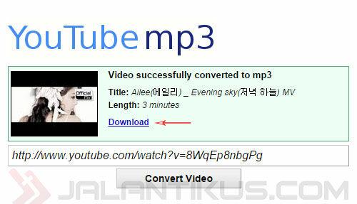 Cara Download Lagu dan MP3 di YouTube - JalanTikus.com