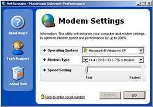 Netscream Aplikasi Untuk Meningkatkan Kecepatan Internet Komputer