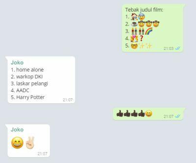 5 Permainan Di Whatsapp Yang Kreatif Dan Bikin Chat Makin Seru