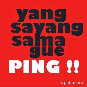 Ping Bbm 8