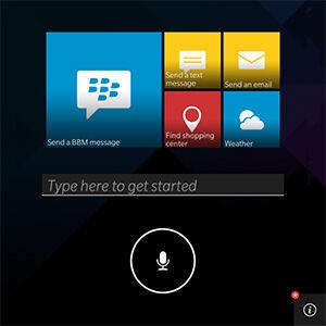 Voice Assistant Fitur Terbaru BlackBerry 1