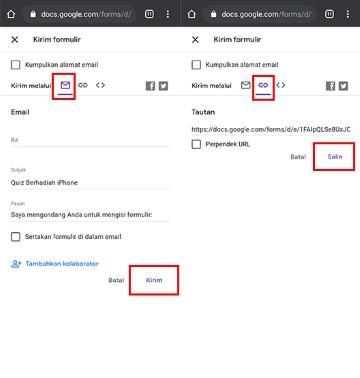 Tutorial Cara Membuat Google Form Kuis Di Hp Jalantikus