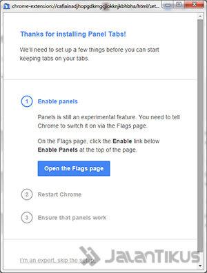 Cara Membuat Chrome Menjadi Floating2