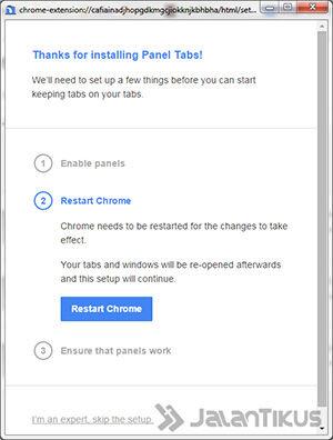Cara Membuat Chrome Menjadi Floating4