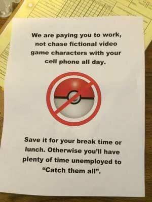 Hal Terlarang Di Pokemon Go 5