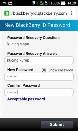 Lupa Password Bbm 10