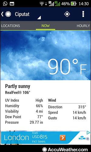 Aplikasi Cuaca Android 4