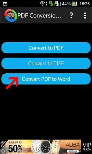 cara merubah file pdf ke word di hp