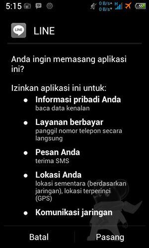Cara Instal 3 Line Di Satu Device Android1