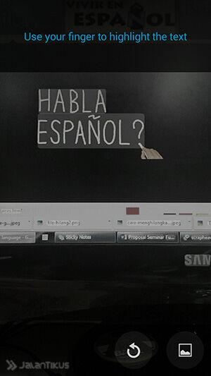 Cara Mudah Menerjemahkan Tulisan Menggunakan Kamera Smartphone 3
