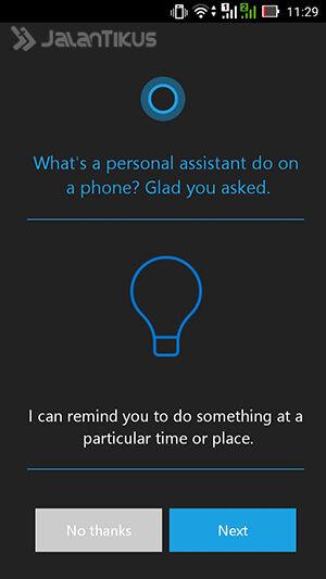 Install Cortana Di Android 2