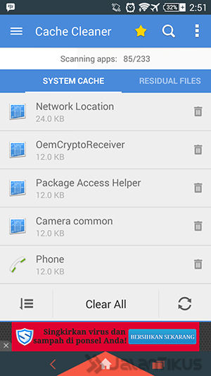 Solusi Tidak Cukup Ruang Pada Perangkat Insufficient Storage Available Android 1