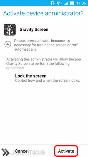 Gravity Screen 1