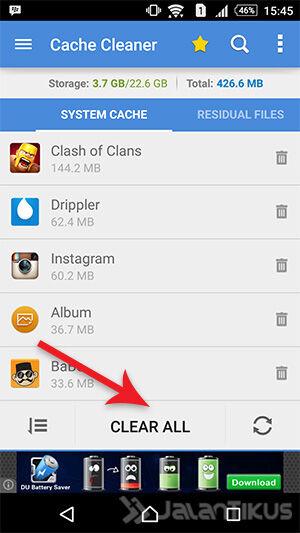 Cara Menghapus Cache Di Android 1
