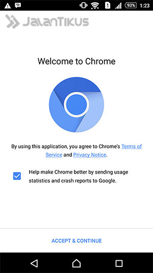 Menghilangkan Iklan Google Chrome Android 2