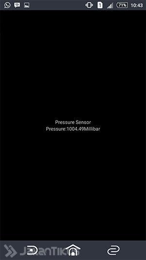 Pressure Sensor Sony Xperia 3
