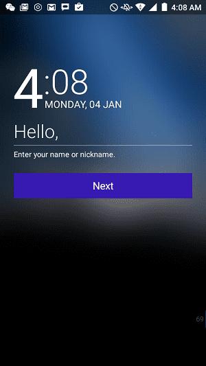 Cara Android Menyapa Kamu 4