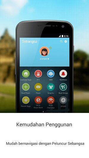 aplikasi android lokal populer