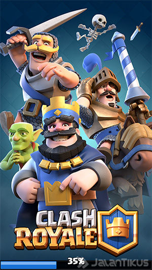 Install Clash Royale Android 2